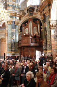 Inauguration de l'Orgue rénové de la Miséricorde – 12 avril 2013
