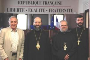 Visite de son Eminence Monseigneur Job de Telmessos