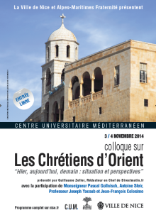 Colloque sur les Chrétiens d'Orient