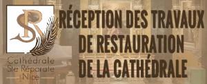 Inauguration des Travaux de la Cathédrale Sainte Réparate – Samedi 21 février à 16 heures