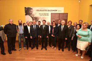 Visite de l'exposition Charlotte Salomon par AMF