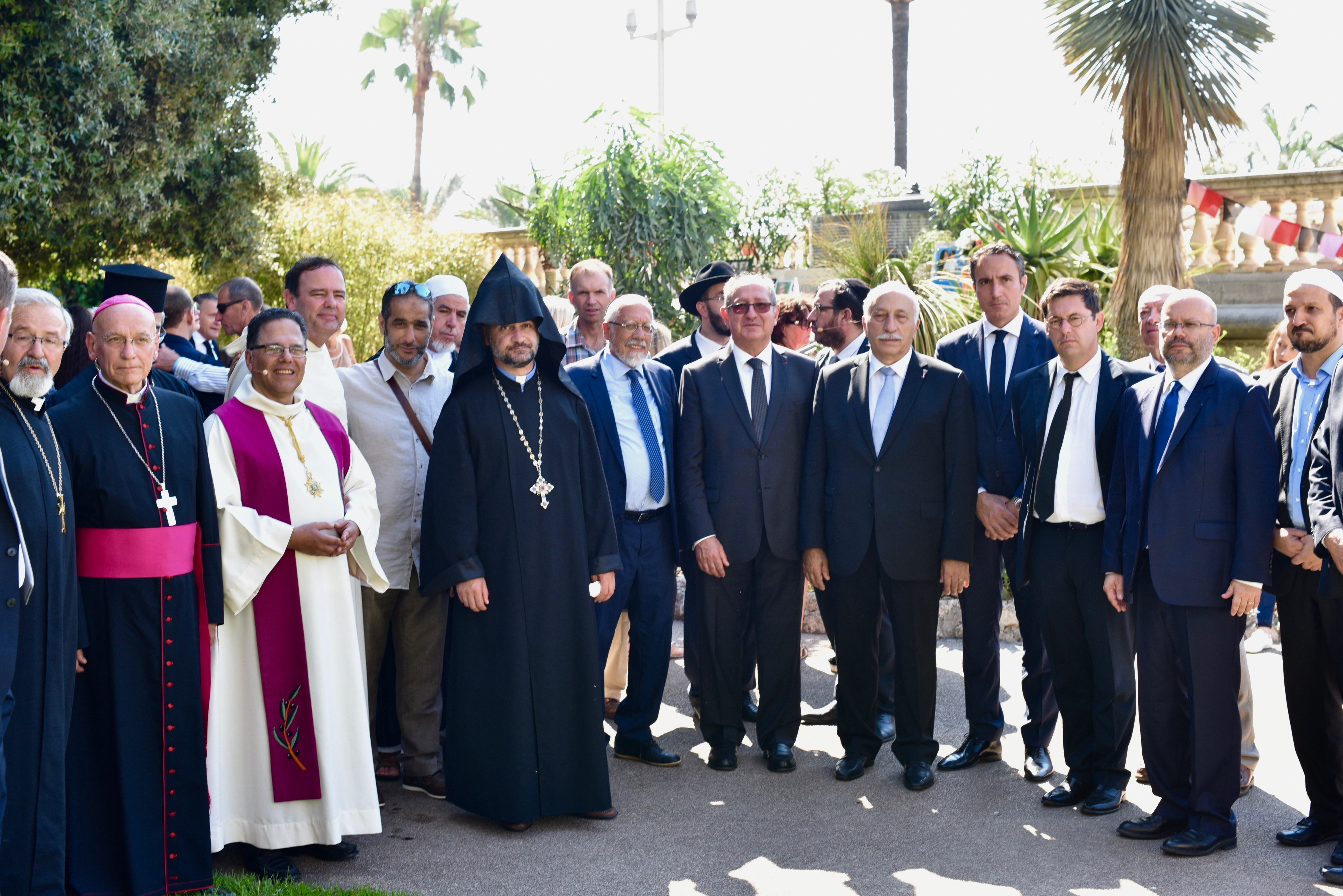 ceremonie interreligieuse a l invitation d alpes maritimes fraternite