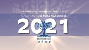 Le calendrier 2021 «Alpes-Maritimes Fraternité» est disponible!